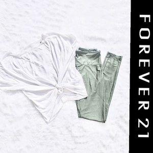 Forever 21 Activewear Set